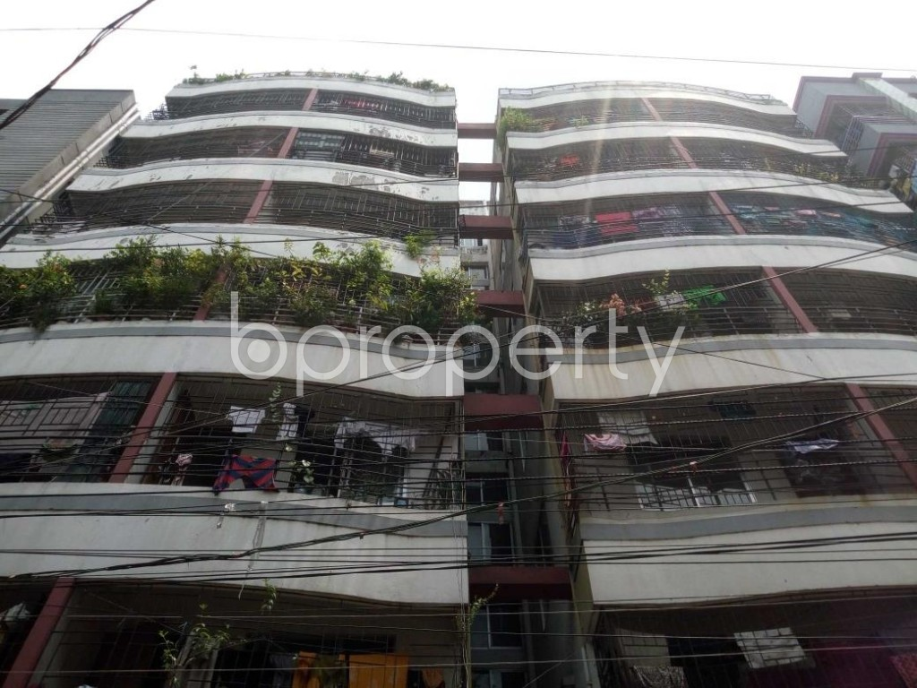 Front view - 2 Bed Apartment for Sale in Mohammadpur, Dhaka - 1904782