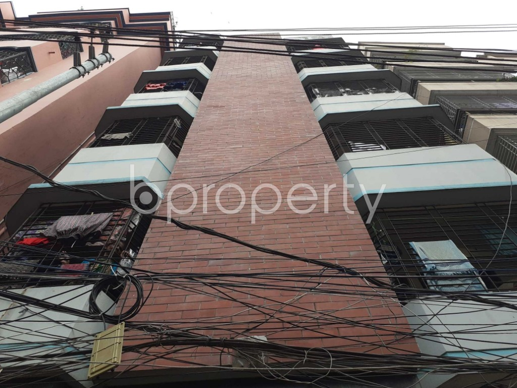 Front view - 3 Bed Apartment for Sale in Tejgaon, Dhaka - 1904903