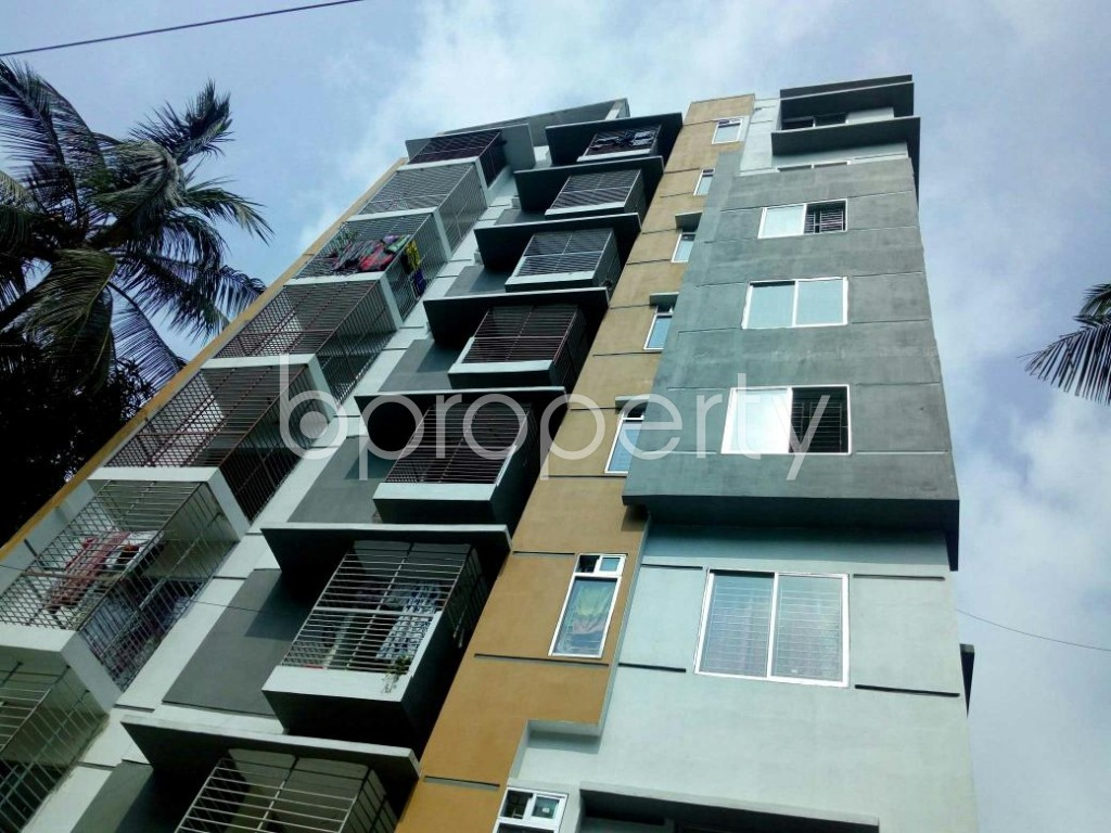 Front view - 3 Bed Apartment for Sale in Lal Khan Bazaar, Chattogram - 1904923