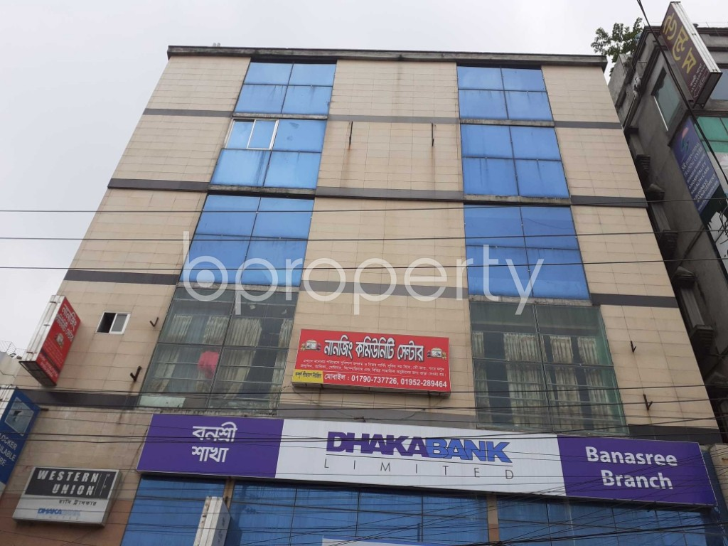 Commercial inside - Office for Sale in Banasree, Dhaka - 1905089