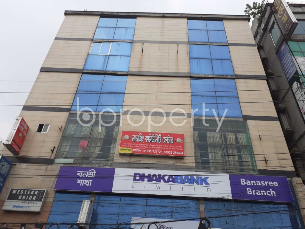 Commercial inside - Office for Sale in Banasree, Dhaka - 1905090