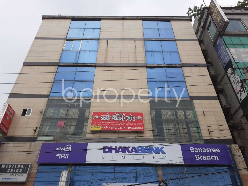 Commercial inside - Office for Sale in Banasree, Dhaka - 1905091