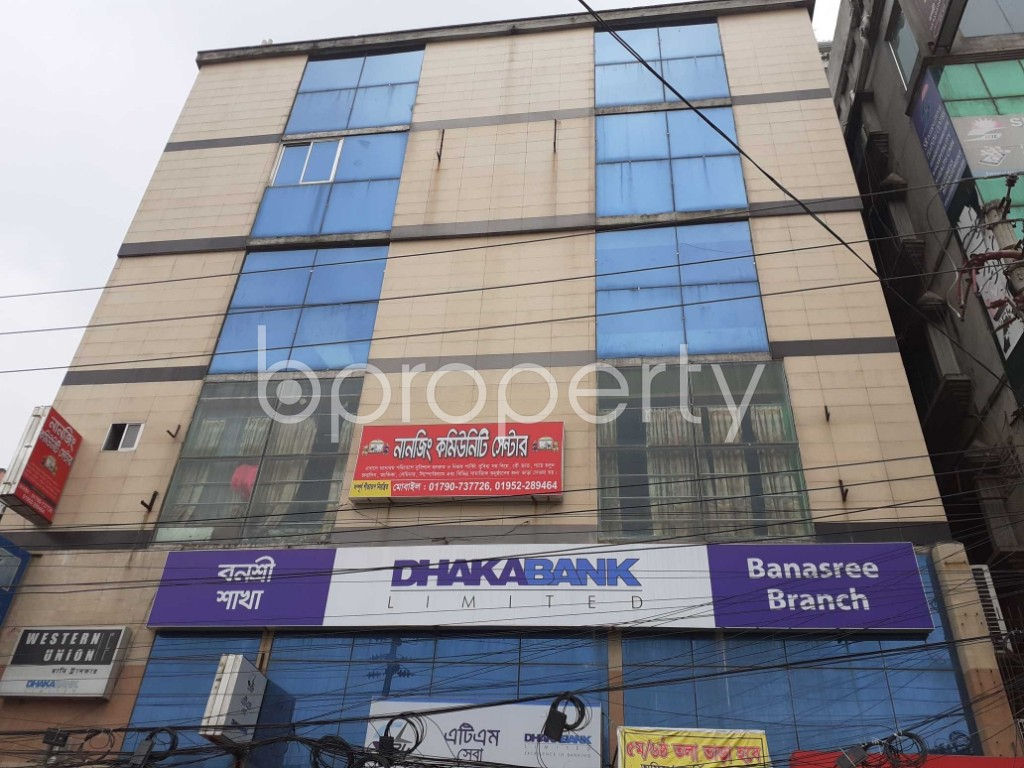 Front view - Office for Sale in Banasree, Dhaka - 1905093