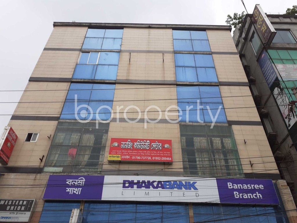 Commercial inside - Office for Sale in Banasree, Dhaka - 1905094