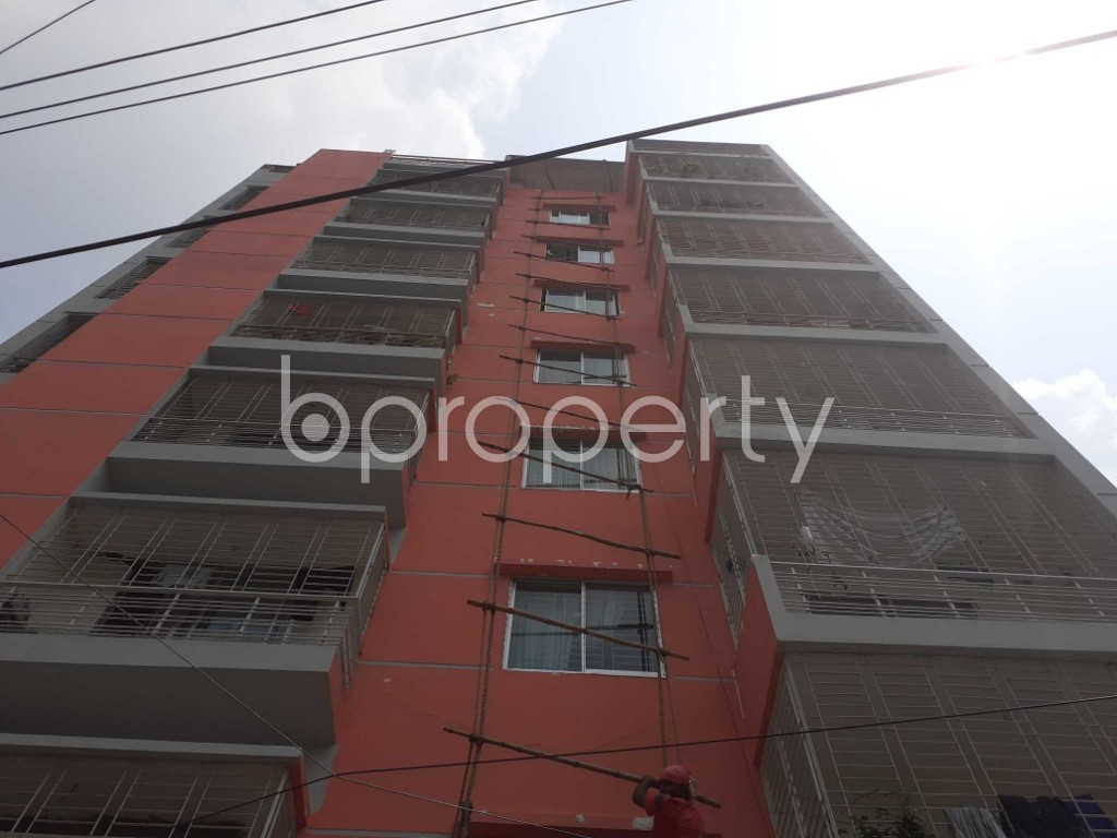 Front view - 4 Bed Apartment for Sale in Malibagh, Dhaka - 1905125
