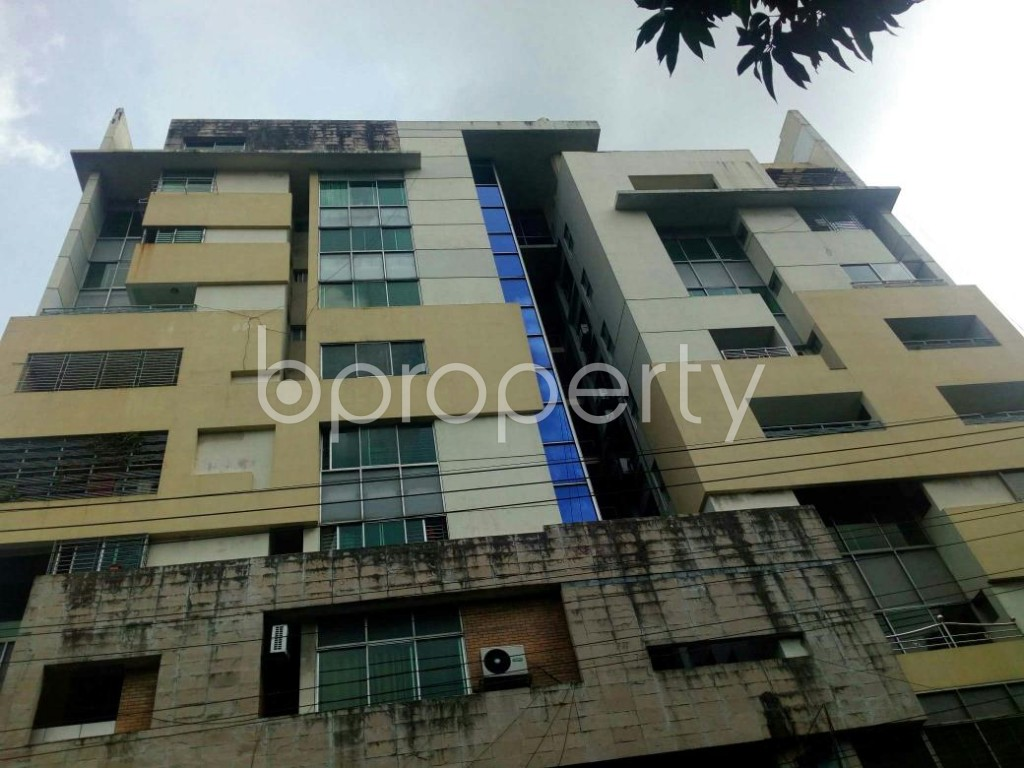 Front view - 3 Bed Apartment for Sale in Khulshi, Chattogram - 1905198