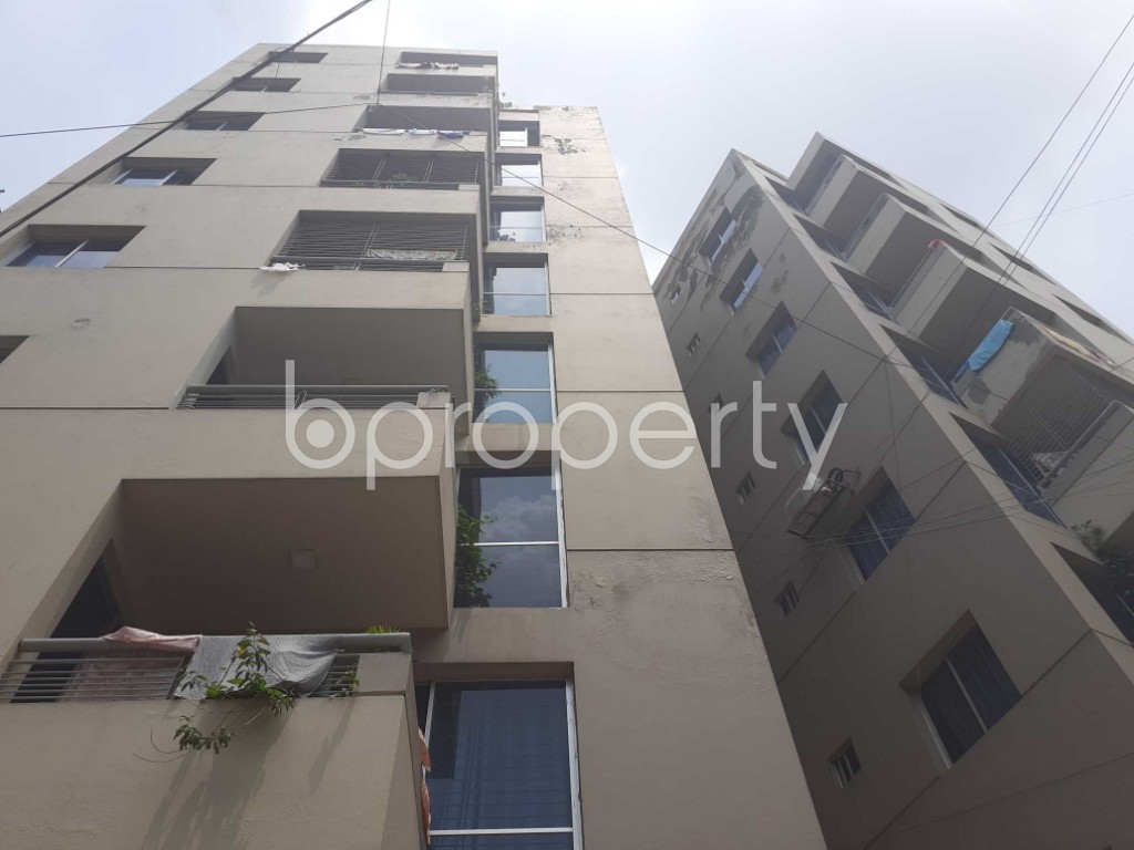 Front view - 3 Bed Apartment for Sale in Malibagh, Dhaka - 1905224