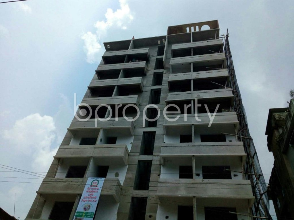 Front view - 3 Bed Apartment for Sale in Double Mooring, Chattogram - 1905539