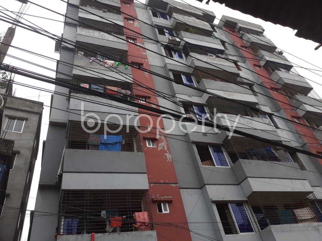 Outside view - 3 Bed Apartment for Sale in Jatra Bari, Dhaka - 1905610