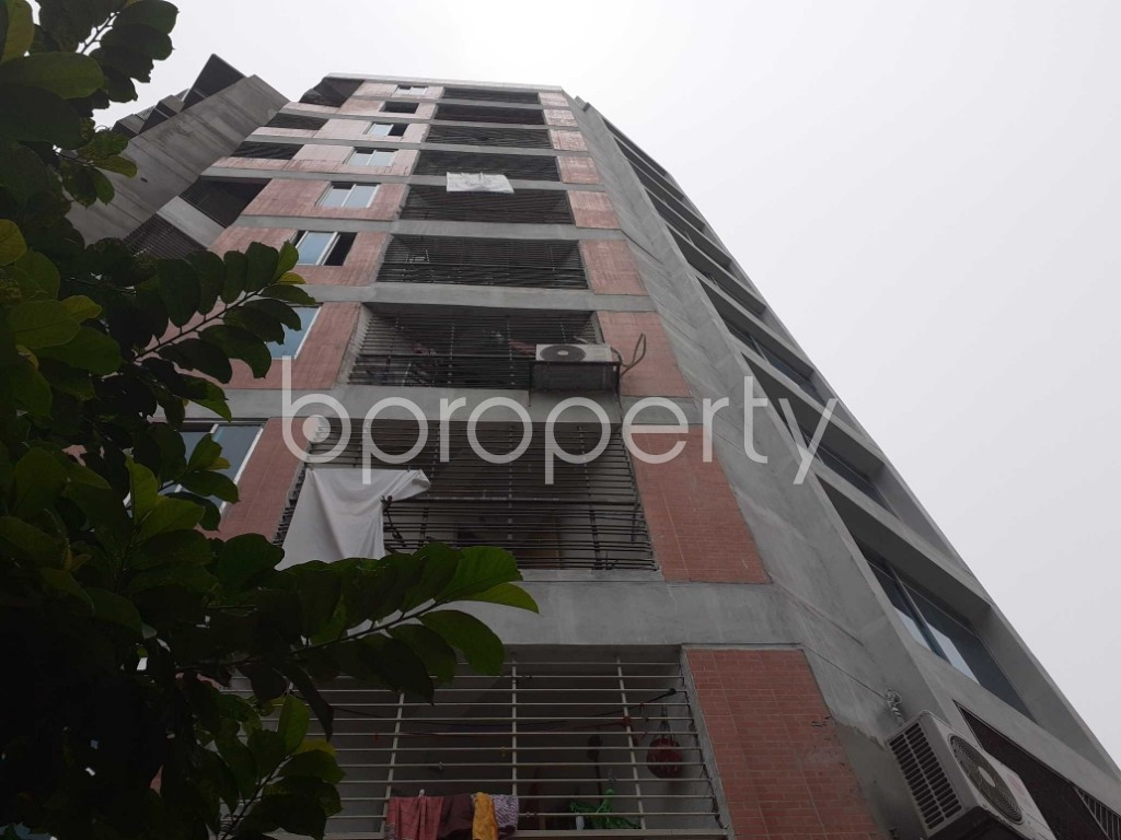Front view - 3 Bed Apartment for Sale in Malibagh, Dhaka - 1905659
