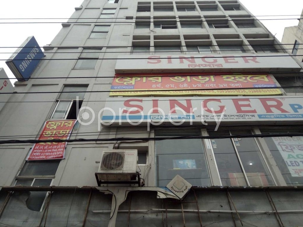 Front view - Office to Rent in Badda, Dhaka - 1905679