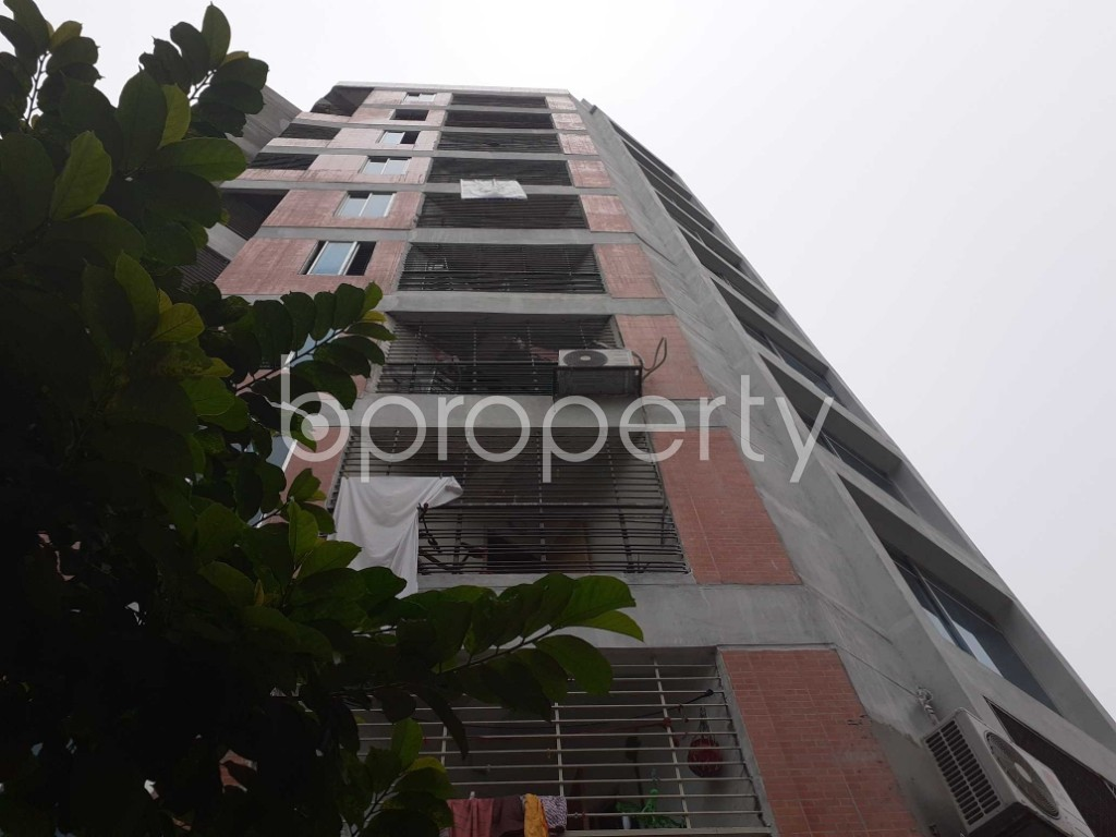Front view - 3 Bed Apartment for Sale in Malibagh, Dhaka - 1905671
