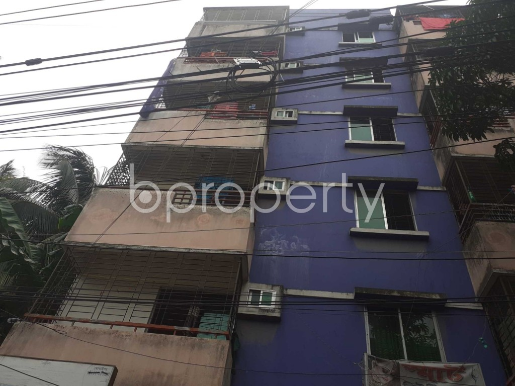 Outside view - 1 Bed Apartment for Sale in Jatra Bari, Dhaka - 1905721