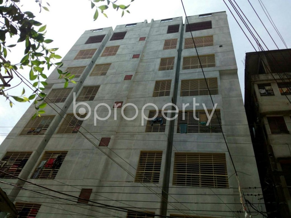 Front view - 3 Bed Apartment for Sale in Uttar Lalkhan, Chattogram - 1905821