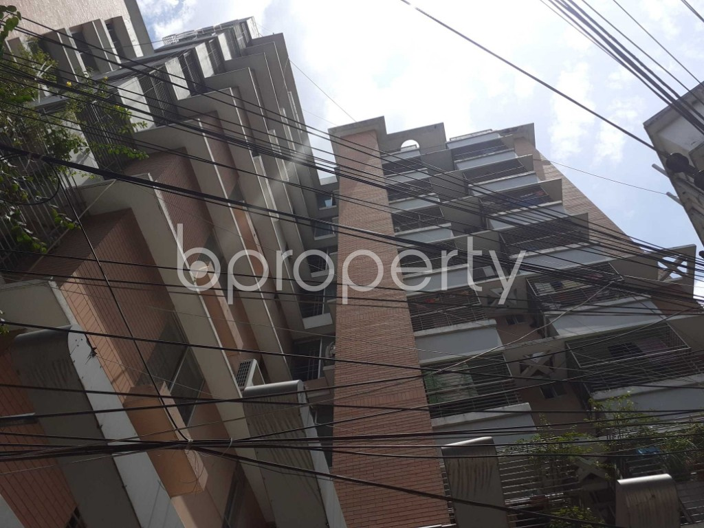 Front view - 3 Bed Apartment for Sale in Malibagh, Dhaka - 1906679