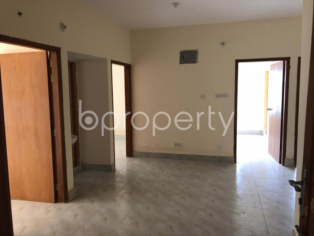 Empty Room - 3 Bed Apartment for Sale in Mirpur, Dhaka - 1901795