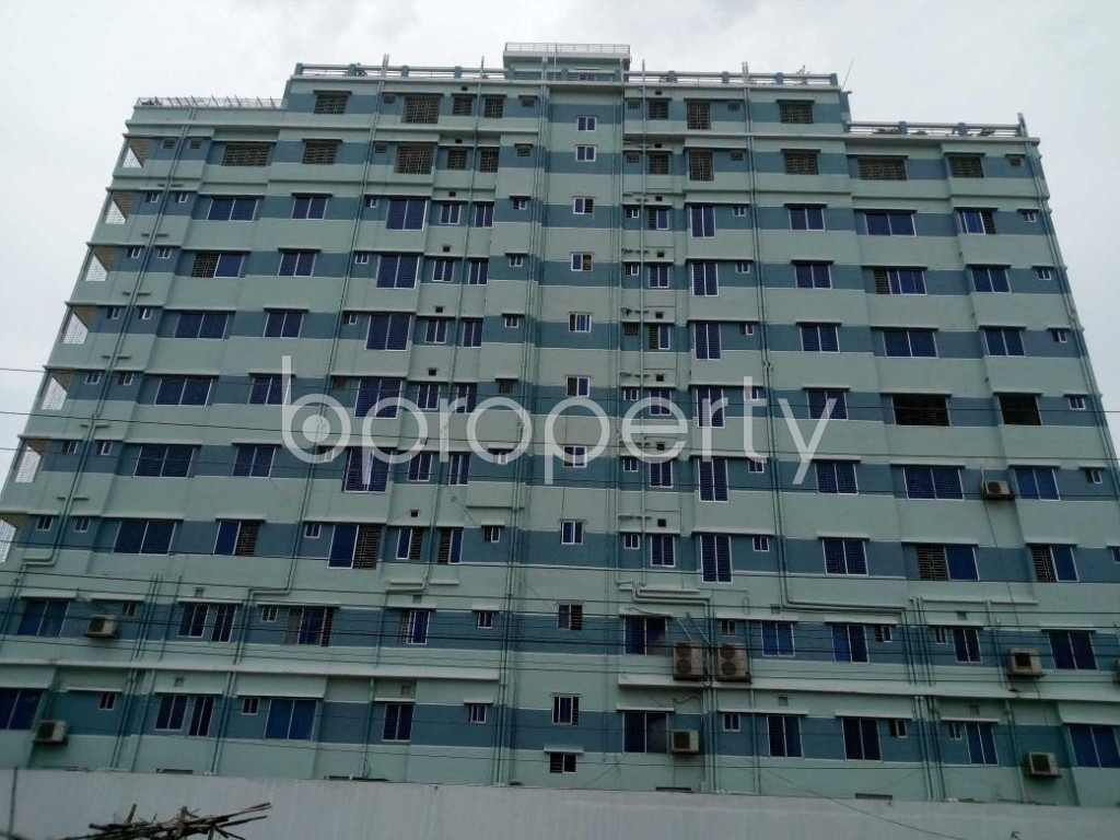 Front view - Office to Rent in Aftab Nagar, Dhaka - 1906820