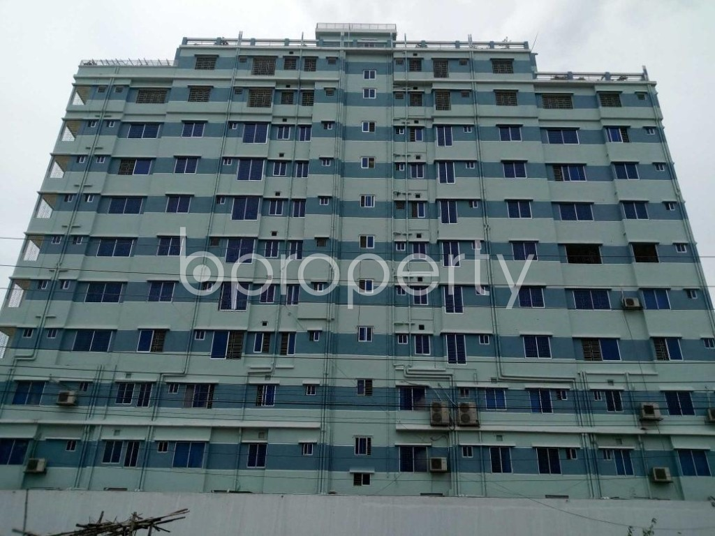 Front view - Office to Rent in Aftab Nagar, Dhaka - 1906835