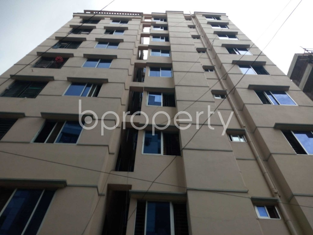 Front view - 3 Bed Apartment for Sale in 11 No. South Kattali Ward, Chattogram - 1906834