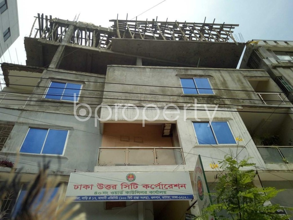 Front view - Office to Rent in Badda, Dhaka - 1906987