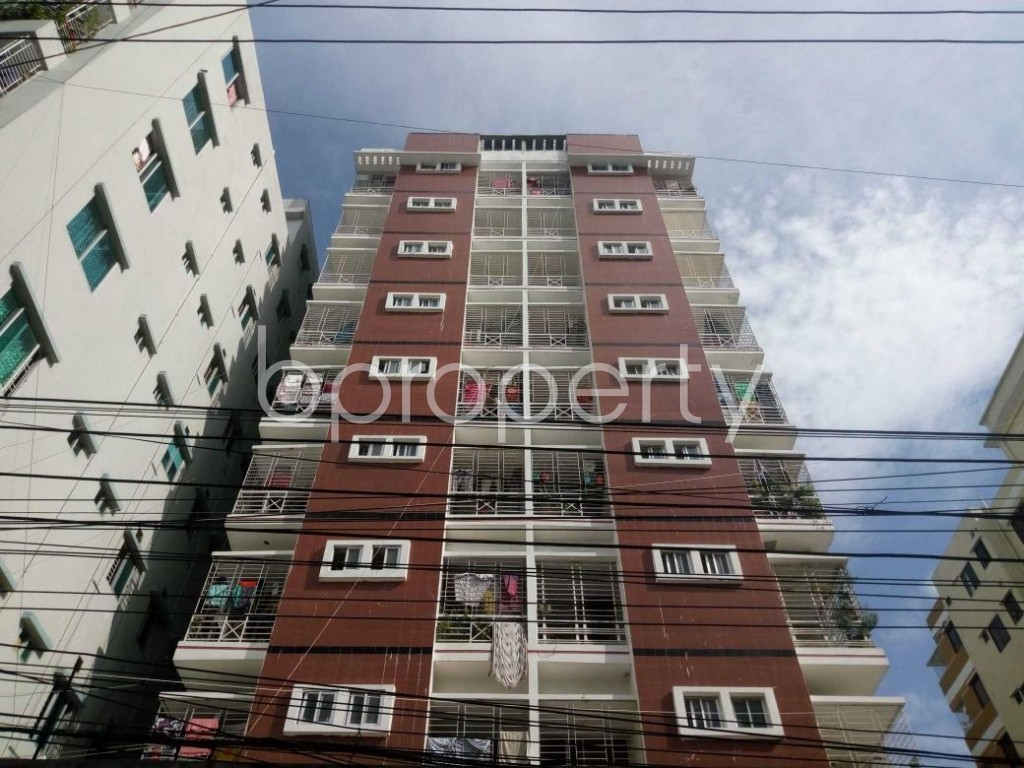 Front view - 3 Bed Apartment for Sale in Mohammadpur, Dhaka - 1907149