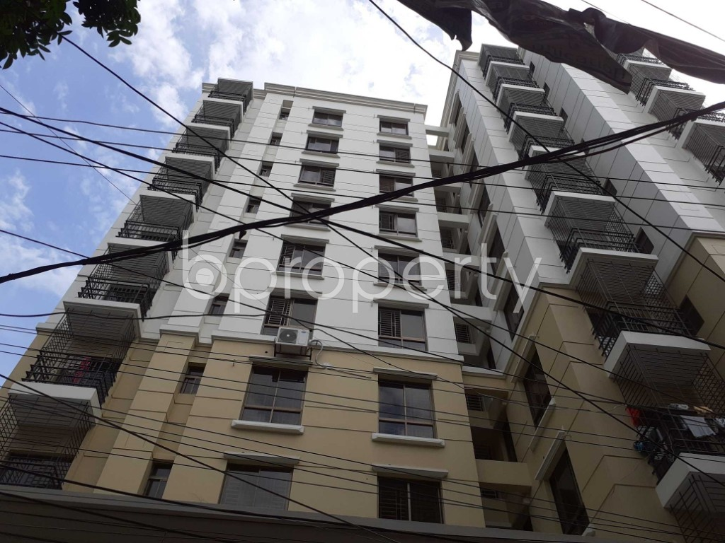 Front view - 3 Bed Apartment for Sale in Tejgaon, Dhaka - 1907165