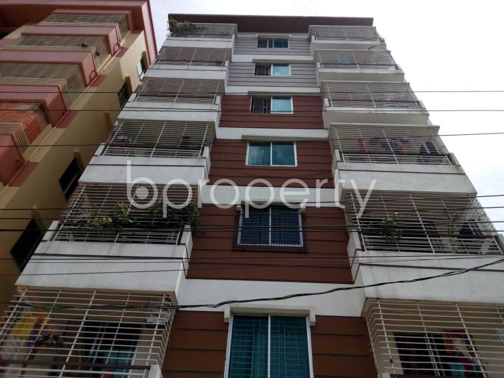 Front view - Shop for Sale in Aftab Nagar, Dhaka - 1907198