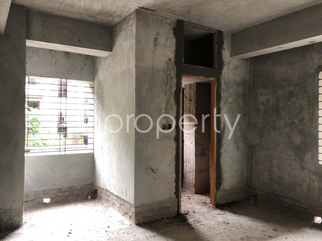 Empty Room - 3 Bed Apartment for Sale in Dhanmondi, Dhaka - 1902827
