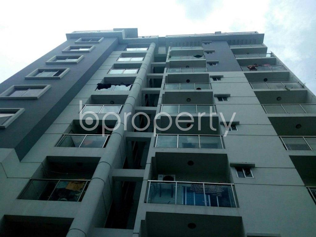 Front view - 3 Bed Apartment for Sale in Khulshi, Chattogram - 1907724
