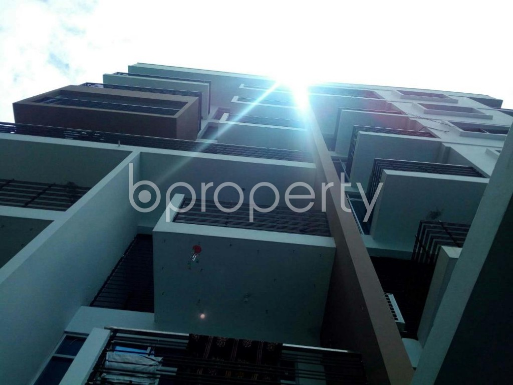 Front view - 3 Bed Apartment for Sale in Khulshi, Chattogram - 1907759