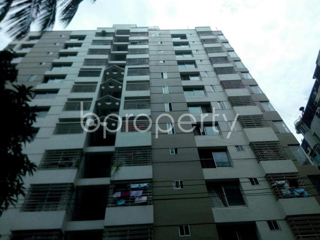 Front view - 3 Bed Apartment for Sale in 15 No. Bagmoniram Ward, Chattogram - 1907850
