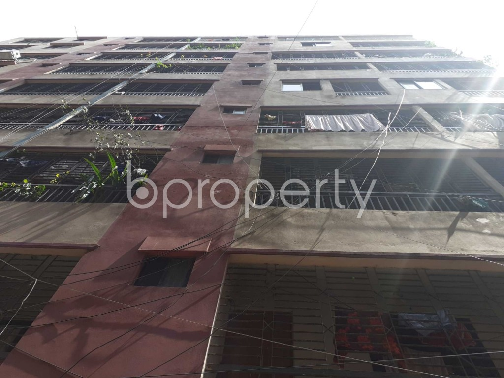 Front view - 4 Bed Apartment for Sale in Malibagh, Dhaka - 1908095