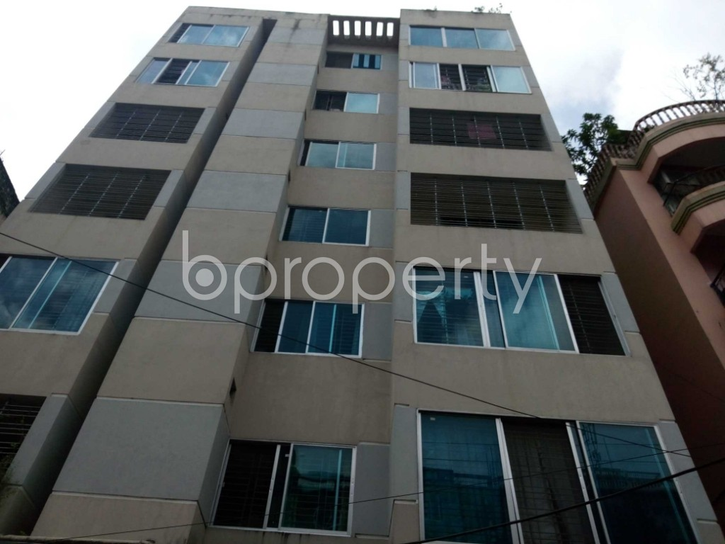 Front view - 3 Bed Apartment for Sale in 11 No. South Kattali Ward, Chattogram - 1908245