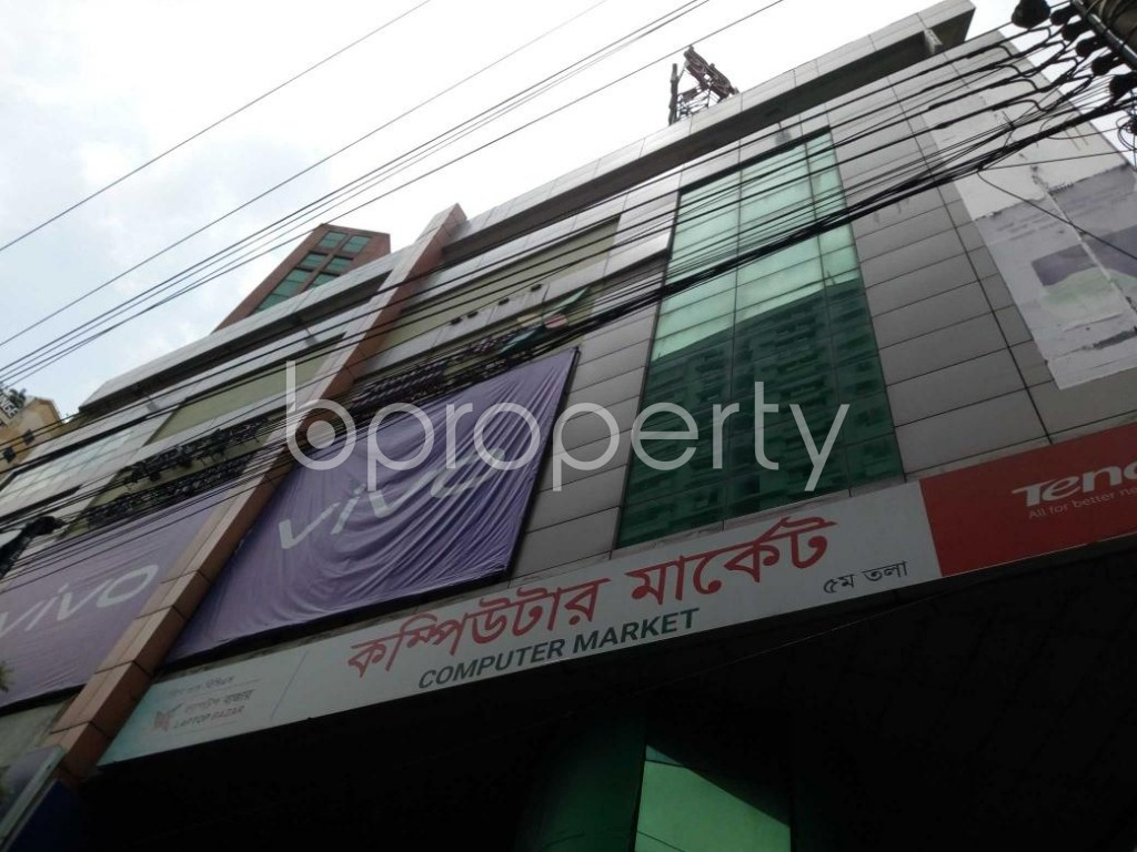 Front view - Office to Rent in Shantinagar, Dhaka - 1908597