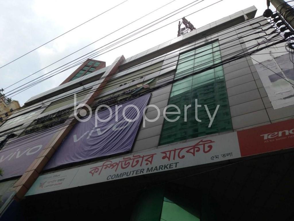 Front view - Shop for Sale in Shantinagar, Dhaka - 1908599