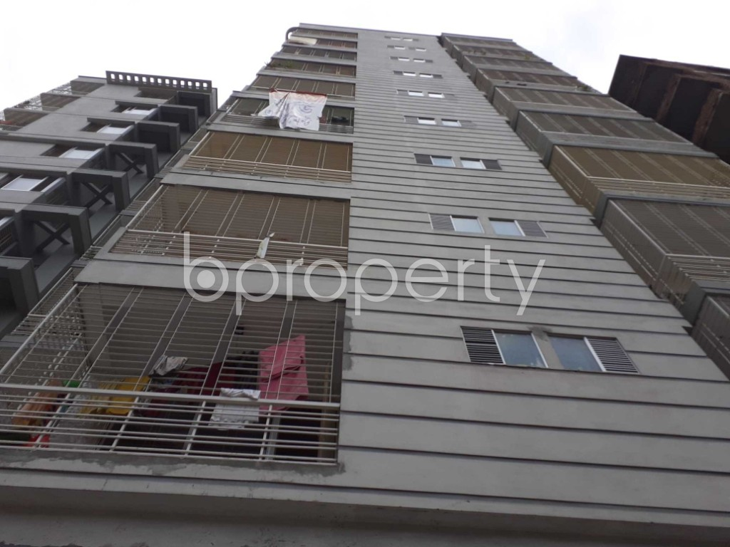 Front view - 3 Bed Apartment for Sale in Malibagh, Dhaka - 1908639