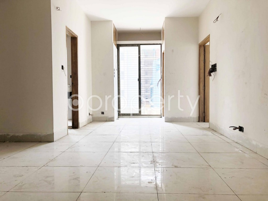 Dining area - 3 Bed Apartment for Sale in Dhanmondi, Dhaka - 1898623