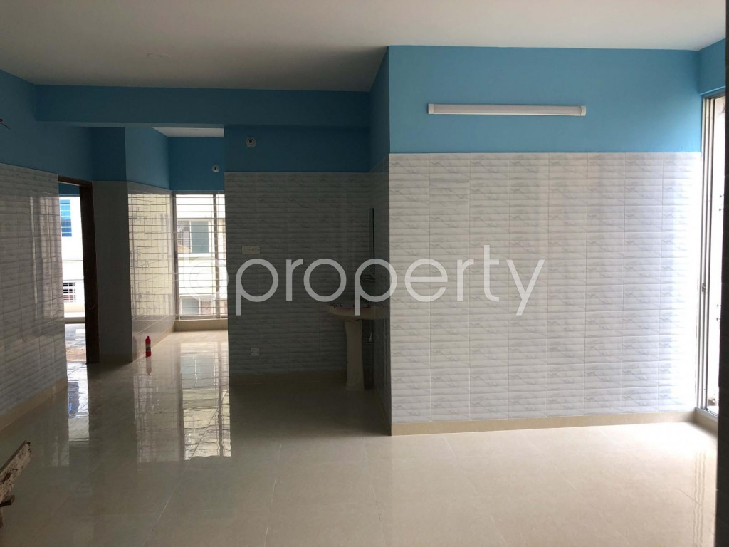 Dining area - 3 Bed Apartment for Sale in Uttara, Dhaka - 1902649