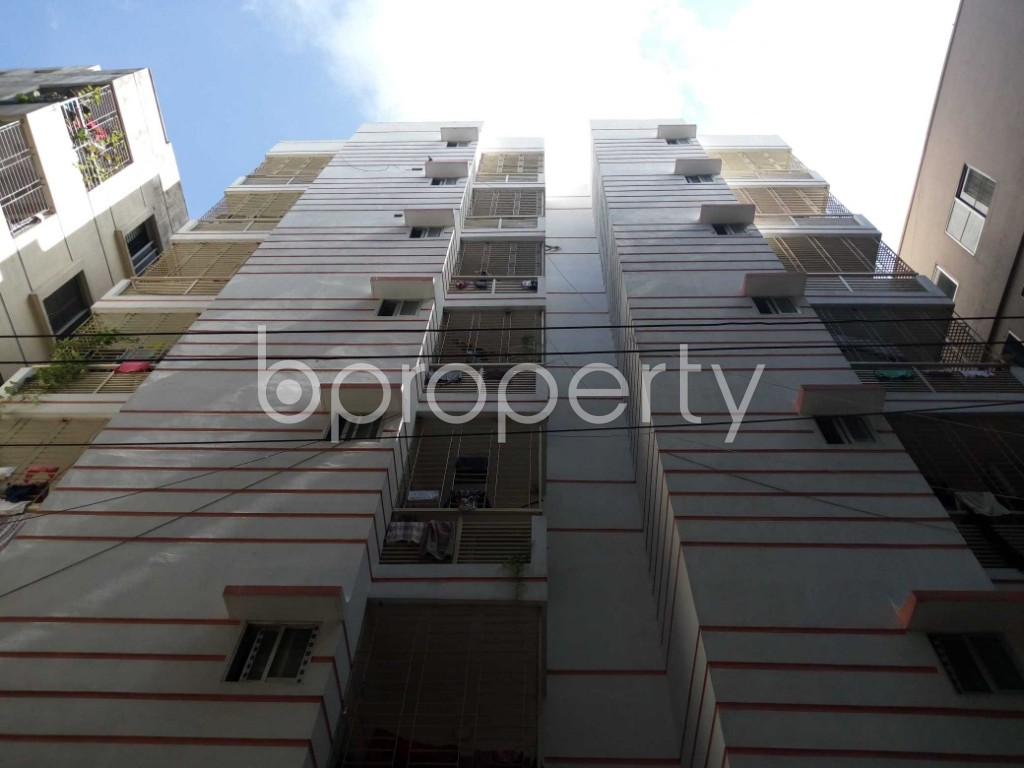 Front view - 3 Bed Apartment for Sale in Malibagh, Dhaka - 1908792