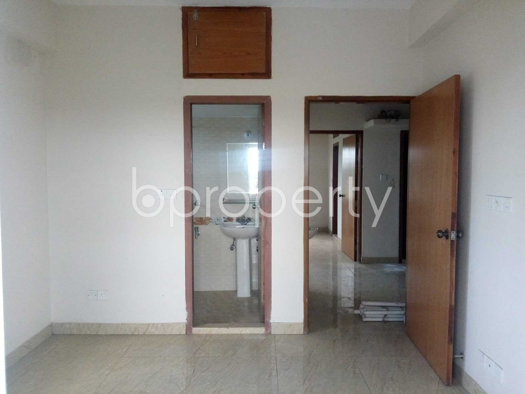 Bedroom - 3 Bed Apartment for Sale in Aftab Nagar, Dhaka - 1908841
