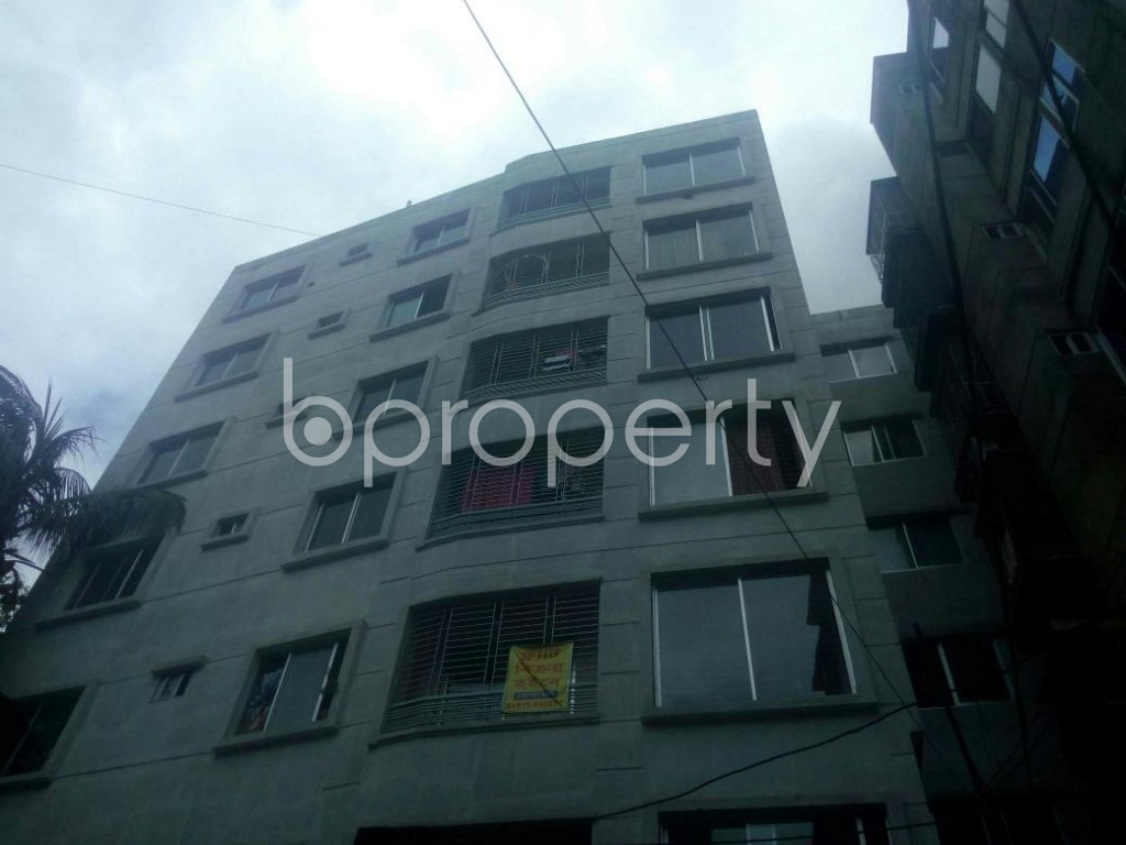 Front view - 3 Bed Apartment for Sale in Malibagh, Dhaka - 1908874