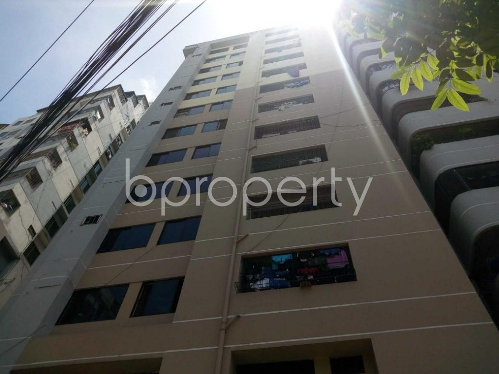 Front view - 3 Bed Apartment for Sale in Shegunbagicha, Dhaka - 1908989