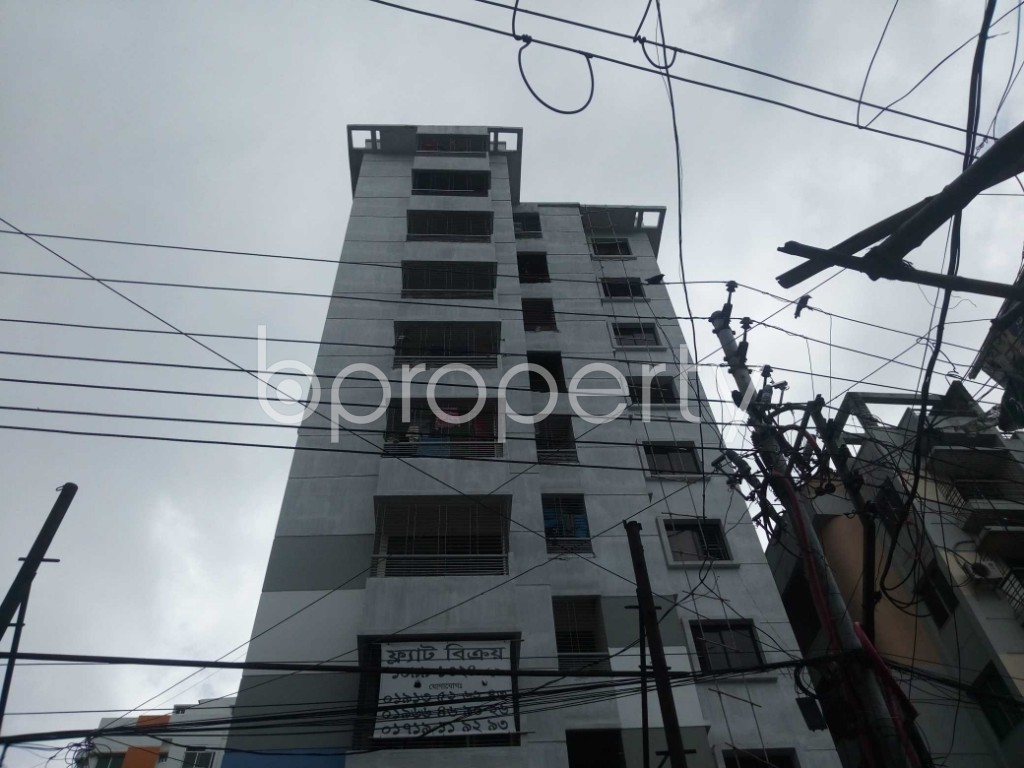 Front view - 3 Bed Apartment for Sale in Malibagh, Dhaka - 1909151