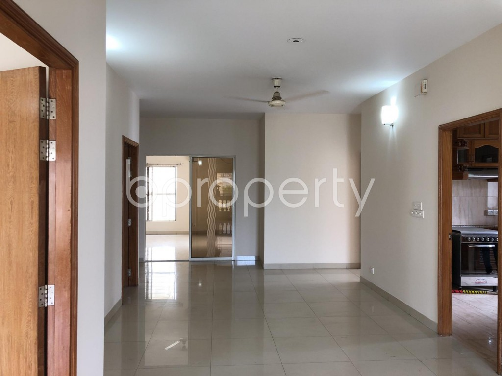 Dining area - 4 Bed Apartment for Sale in Banani, Dhaka - 1906004
