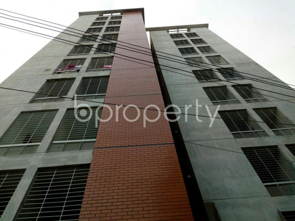 Front view - 3 Bed Apartment for Sale in Cantonment, Dhaka - 1909422