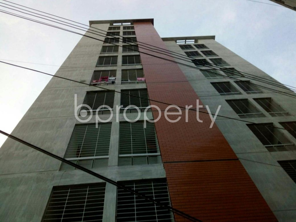 Front view - 3 Bed Apartment for Sale in Cantonment, Dhaka - 1909425