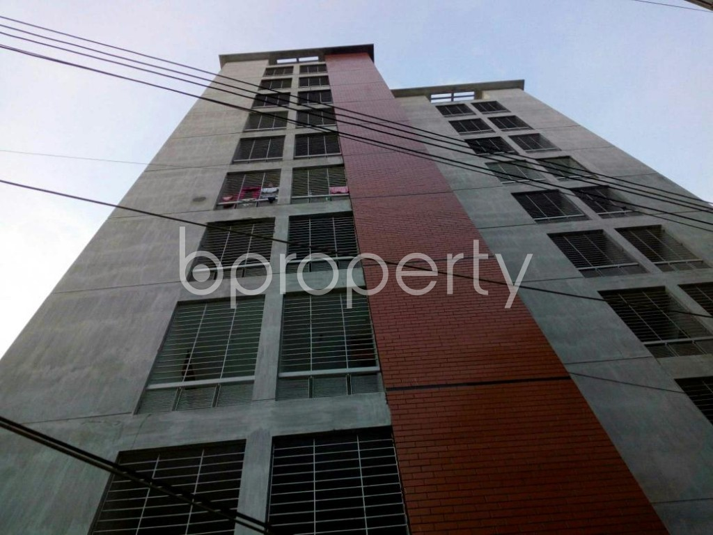 Front view - 3 Bed Apartment for Sale in Cantonment, Dhaka - 1909427