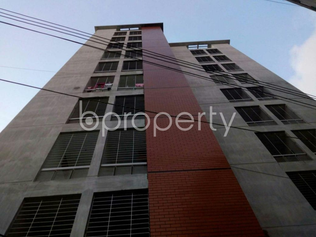 Front view - 3 Bed Apartment for Sale in Cantonment, Dhaka - 1909428