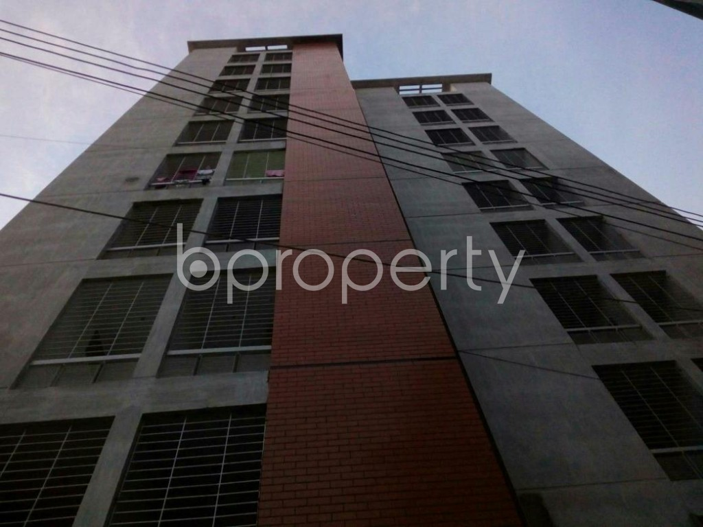 Front view - 3 Bed Apartment for Sale in Cantonment, Dhaka - 1909505