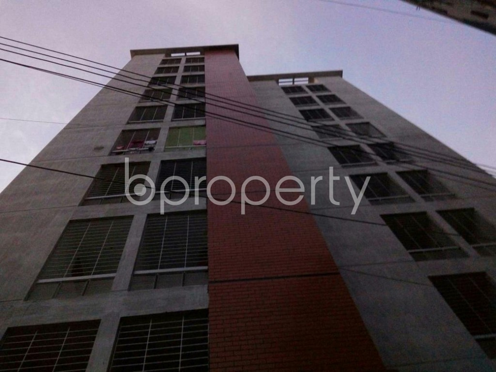Front view - 3 Bed Apartment for Sale in Cantonment, Dhaka - 1909518